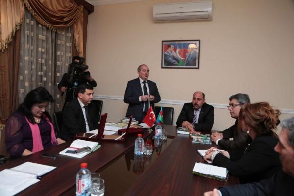 Türkiyəli qonaqlar Aşıq Şəmşir Mədəniyyət Ocağını ziyarət ediblər