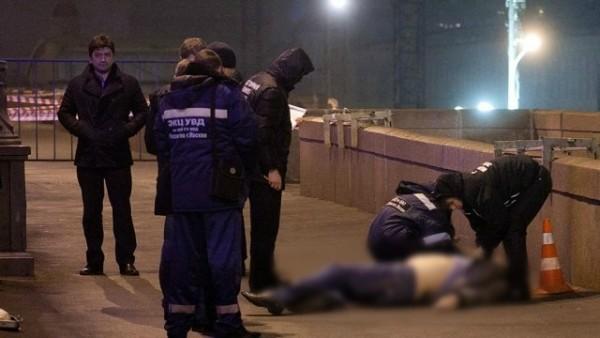 Nemtsovun öldürülmə anı