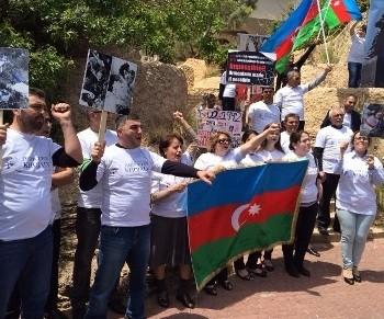 """İsraildə də qondarma """"erməni soyqırım""""ına etiraz edildi"""