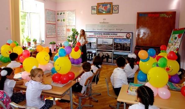 """İlk dərslər """"Cocuq Mərcanlı-tarixi qayıdışın başlanğıcı"""" mövzusuna həsr edilib"""