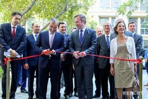 Bakıda Azərbaycan-Fransız Universitetinin yeni binasının açılışı olub