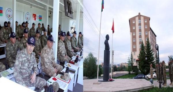Türkiyədəki hərbi kontingent geri qayıtdı -Naxçıvana