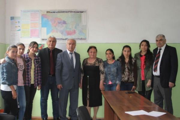 Gürcüstandakı azərbaycanlılar UNEC-i seçir
