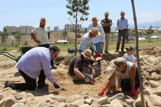 Azərbaycan-İtaliya beynəlxalq arxeoloji ekspedisiyasının apardığı tədqiqatlar