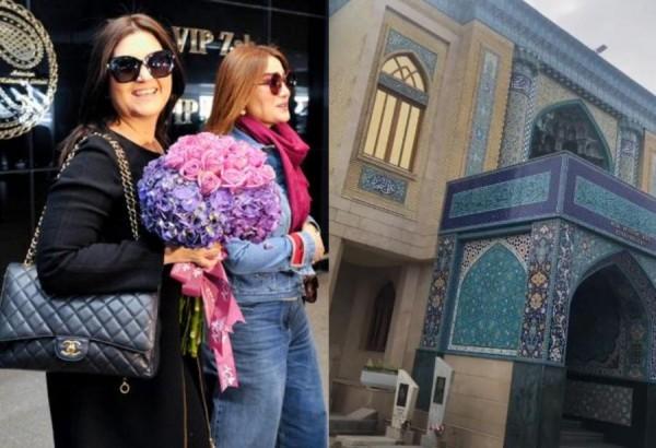 """Sibel Can """"Mir Mövsüm Ağa"""" ziyarətgahında - Video"""