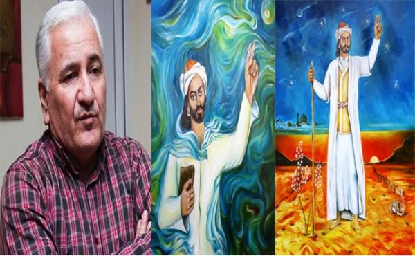 """Tanınmış döyüşçü-rəssamın iki əsəri """"Nəsimi dünyası rənglərin işığında"""" adlı kitabda yer alıb"""