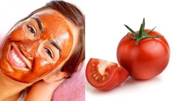 Üzdəki ləkələrdən qurtulmağın yolu - Pomidor maskası