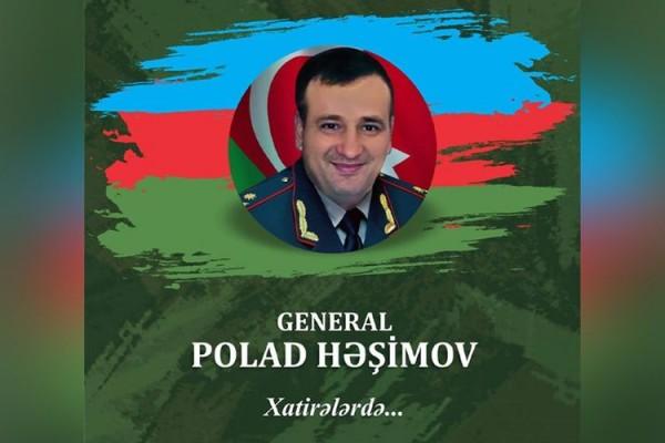 Şəhid general Polad Həşimov haqqında kitab nəşr olunacaq