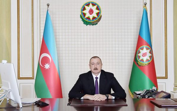 Prezident İlham Əliyev fərman imzlayıb