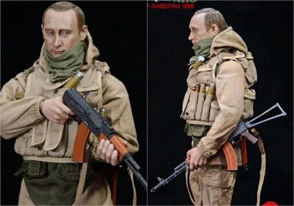 ABŞ-da Putinə bənzəyən xüsusi təyinatlı oyuncağı satışa çıxarıldı - FOTO