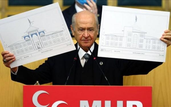 Baxçalının Şuşada məktəb layihəsi: MHP heyəti yer seçməyə gəldi