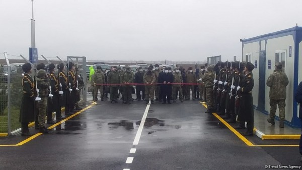 Ağdamda Türkiyə-Rusiya Birgə Monitorinq Mərkəzinin açılışı olub - FOTO