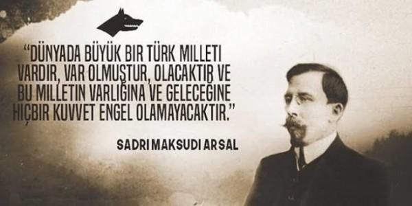 Sadri Maksudi Arsal – türk dünyasının parlaq ziyalısı