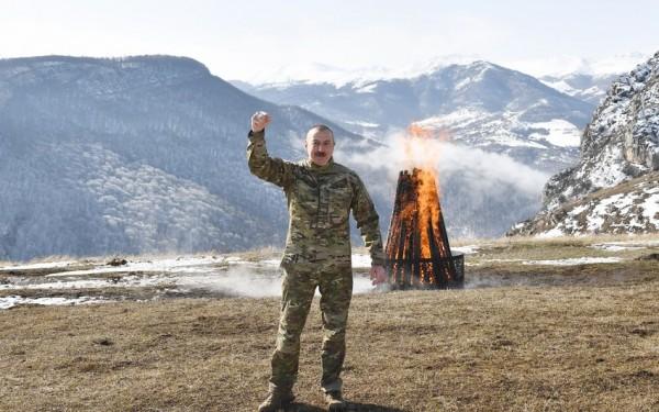 """Prezident: """"Novruz bayramını Şuşada, Cıdır düzündə qeyd edirik"""""""