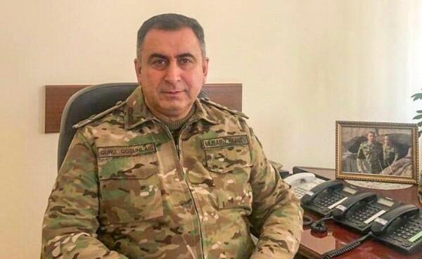 General-mayor korpus komandiri təyin edildi