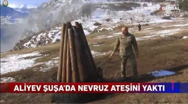 """""""Haber Global"""": """"28 illik aradan sonra Qarabağda Novruz bayramını qeyd edildi"""""""