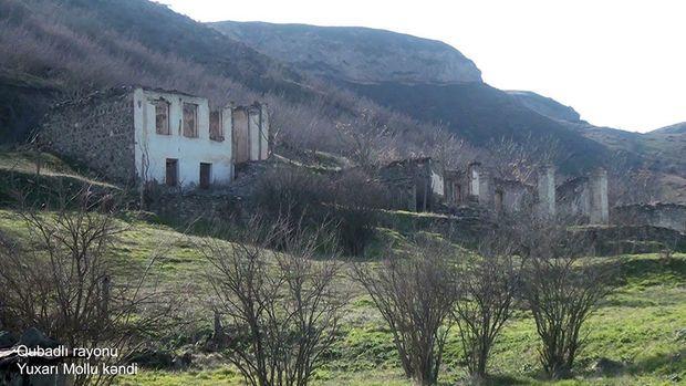 İşğaldan azad edilmiş Yuxarı Mollu kəndi - VİDEO