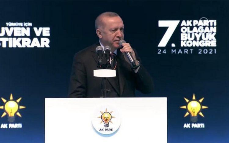 Ərdoğan yenidən AKP sədri seçilib -  YENİLƏNİB-2