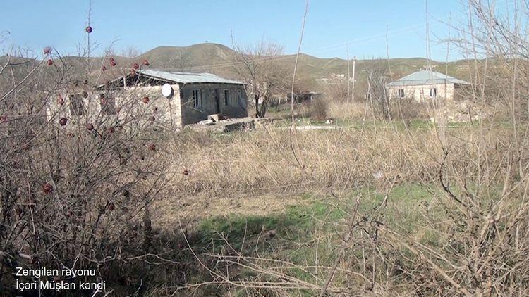 Zəngilanın İçəri Müşlan kəndi -  VİDEO