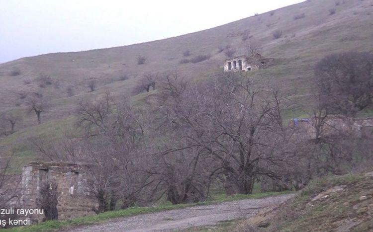 Füzulinin Arış kəndindən görüntülər -  VİDEO