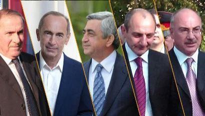 Ermənistanın keçmiş prezidentləri  gizli görüşdü