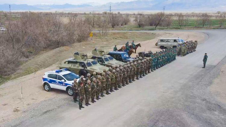 Naxçıvan Qarnizonu Qoşunlarında taktiki təlim məşqi keçirilib -  VİDEO