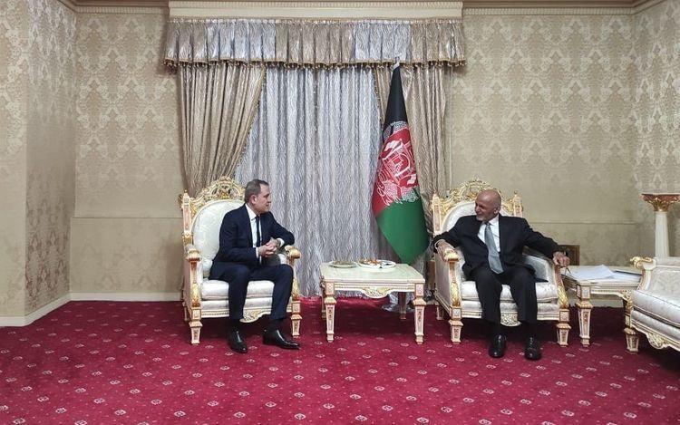 Ceyhun Bayramov Əfqanıstan Prezidenti ilə görüşüb - FOTO