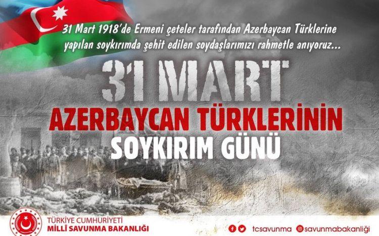 Azərbaycan türkü qardaşlarımızın acısını bölüşürük -  Türkiyə MN