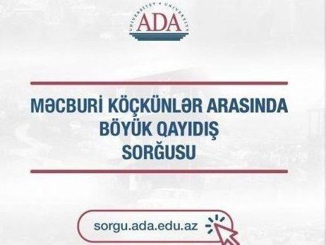 Vətənə dönürük! - Qarabağa geri qayıdışla bağlı sorğu keçirilir!