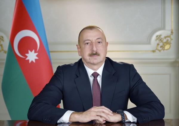 Prezident İlham Əliyev YAP-ın qurultayında çıxış edib