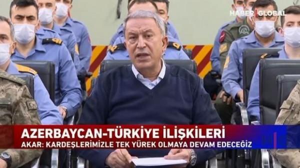 """Akardan Azərbaycan mesajı: """"Qardaşlarımızla tək ürək olmağa davam edəcəyik"""""""