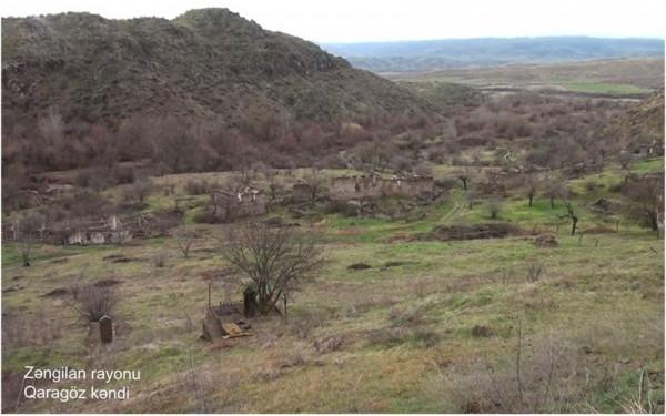 Zəngilanın Qaragöz kəndi