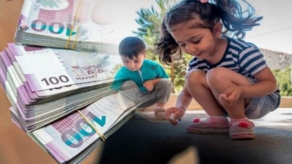Uşaq pulu ilə bağlı AÇIQLAMA - Pul şəklində kartla verilməlidir