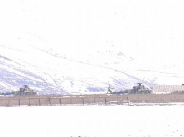 Zəngəzurda yeni Rusiya hərbi obyektinin görüntüləri yayıldı - FOTO