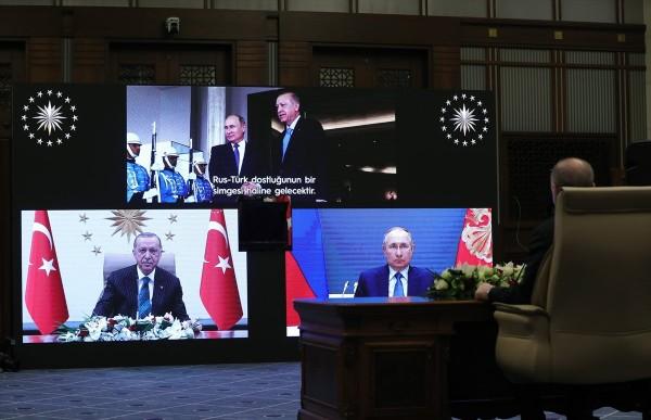 Ərdoğan və Putin Akkuyu AES-in yeni təməlini birlikdə atdı