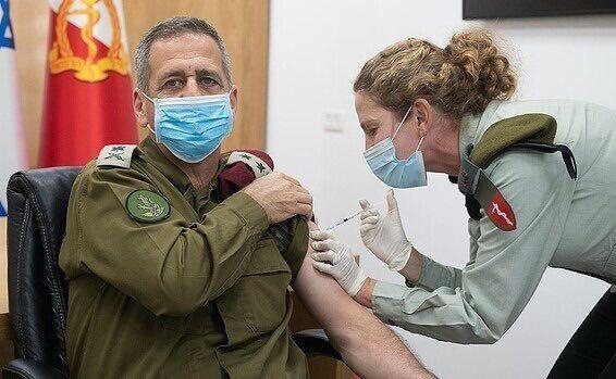 İsrail silahlı qüvvələri COVID-19-a qarşı kollektiv immunitet əldə edən ilk ordu olub