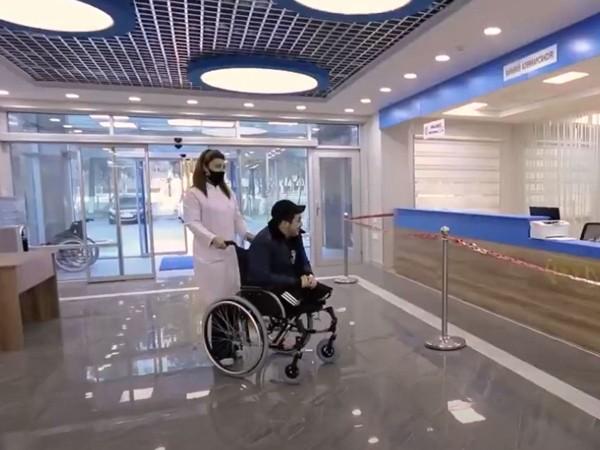 Hər iki ayağını itirən qazimiz yüksək texnologiyalı protezlərlə təmin edilib