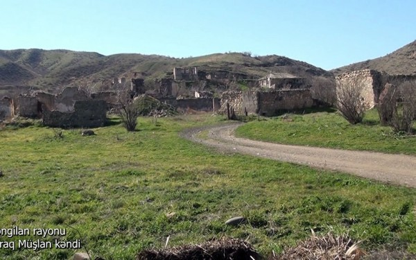 Zəngilanın Qıraq Müşlan kəndindən görüntülər