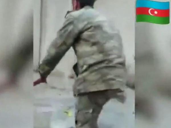 Azərbaycanlı hərbiçinin rekord qıran VİDEOSU