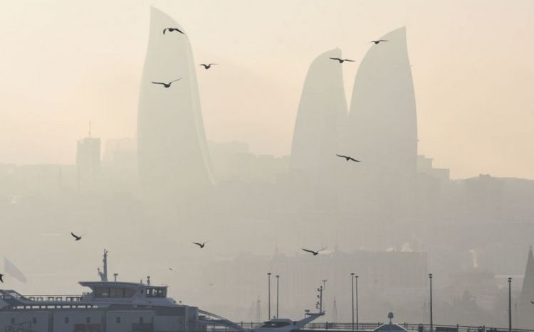 Paytaxtdakı toz dumanın səbəbi