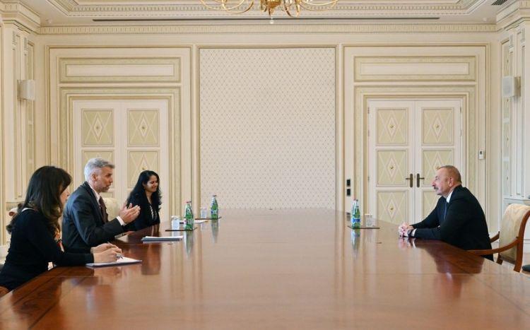 Prezident Dünya Bankının regional direktorunu qəbul edib -  YENİLƏNİB