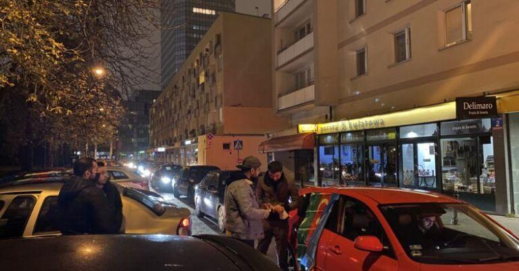 Varşavada azərbaycanlı gənclərə hücum olub