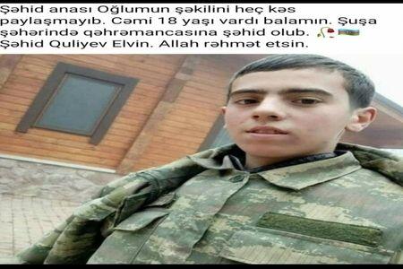 Şəhid olduğu deyilən əsgər sağ-salamatdır -  FOTO