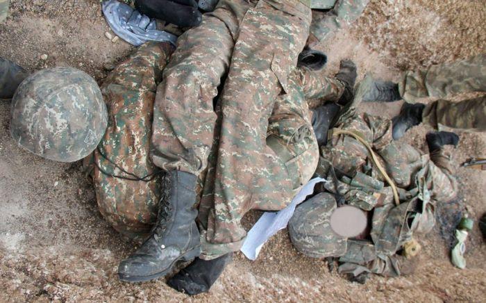 Füzulidə erməni hərbçinin  qalıbları tapıldı