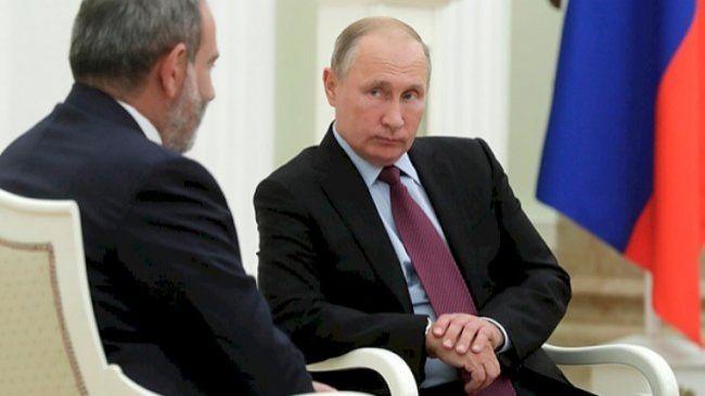 Paşinyan Kreml sahibinə yaltaqlanaraq deyib ki...