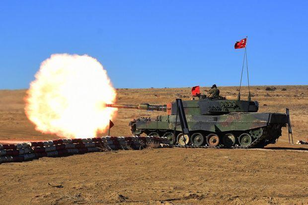 Ankarada Türkiyə Silahlı Qüvvələrinin hərbi təlimləri keçirilib -  FOTO