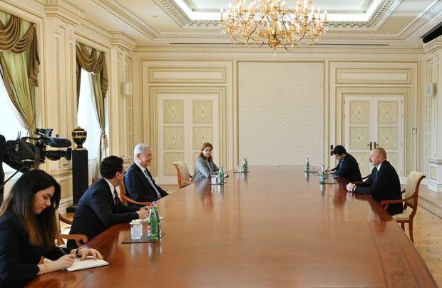 Prezident BMT Baş Assambleyasının 75-ci sessiyasının prezidentini qəbul edib - YENİLƏNİB