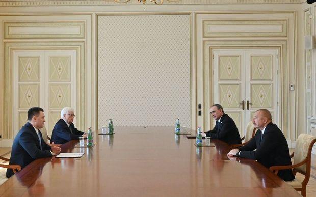 İlham Əliyev Rusiya Federasiyasının baş prokurorunu qəbul etdi