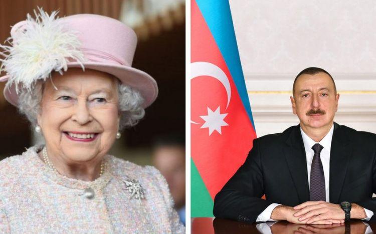 Prezident II Elizabetə başsağlığı verib