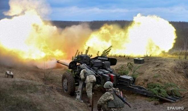 Ukrayna ordusu  Donetskə zərbələr endirir
